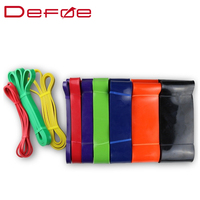 2 Colours Heavy Strength Resistance Bands Loop Natural Latex Pull Up Strengthen Muscles Expander Hanging Training Power Bands