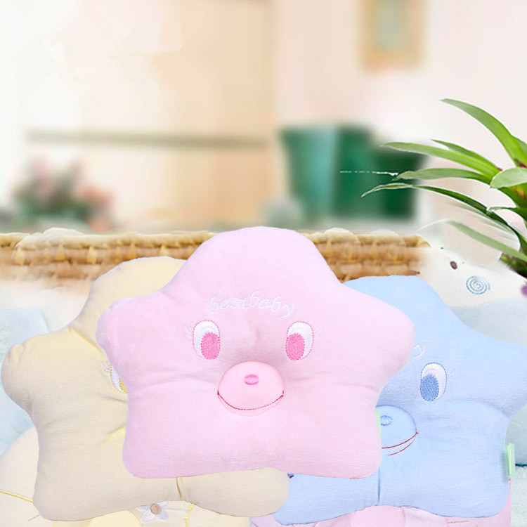 Best Baby 2018 Hot Three Color Cotton Baby Nursing Pillow Support Kids Shaping Pillow Headrest To Prevent Flat Head