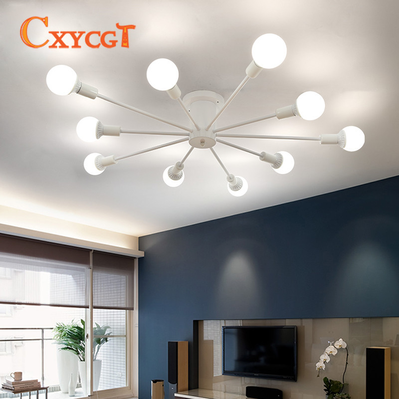 Modern Simple LED Ceiling Lights Nordic Living Room Light ...