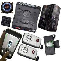 Cardot gsm gps Автомобильная сигнализация системы пассивный Центральный замок для Авто Автозапуск зажигания smart key защиты двигатели для автомоби