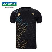 Новое поступление Yonex футболка для бадминтона Lin Dan стильные спортивные футболки с коротким рукавом для мужчин 16419ldcr