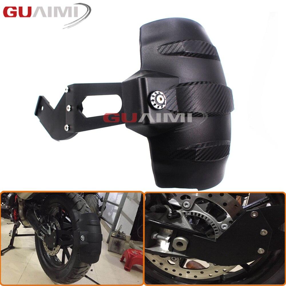 Motorcycle Accessories Rear Splash Mud Dust Guard Fender Shield For F800GS F700GS F800R F650GS 2008-2015 2016 2017 xuankun gy6125 scooter motorcycle accessories motorcycle rear fender tile mud