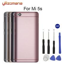YILIZOMANA oryginalny wymiana baterii tylna etui na Xiaomi mi 5S mi 5S M5S telefon z tyłu obudowy drzwi twardy futerał z bezpłatnych narzędzi w