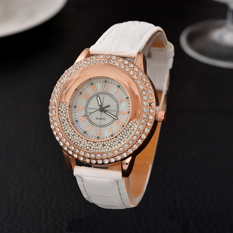 ethnic product rhinestones hot luxury belt velvet watches diamond women stone quartz alloy watch buckle geneva new