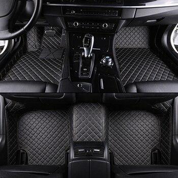 Kustom lantai mobil tikar untuk Infiniti Semua Model M35/M37/M56 mendukung mobil interio mobil accessorie mobil styling lantai tikar