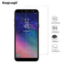 Screen Protector For Samsung Galaxy A6 2018 Tempered Glass Mobile phone tempered glass for Scratch-proof