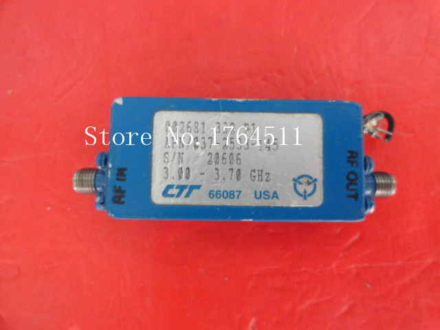 [BELLA] CTT APN/037-2533-145 3-3.7GHz 15V SMA Supply Amplifier