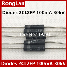 High-Voltage Diodes Silicon 30kv 100ma 2CL2FP BELLA Stack--40pcs/Lot