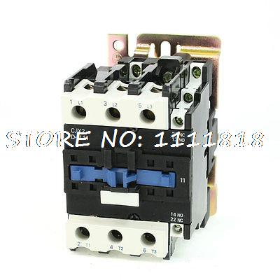 CJX2-4011 3 Phase 1NO 1NC Contact 380VAC 50Hz AC Coil ContactorCJX2-4011 3 Phase 1NO 1NC Contact 380VAC 50Hz AC Coil Contactor