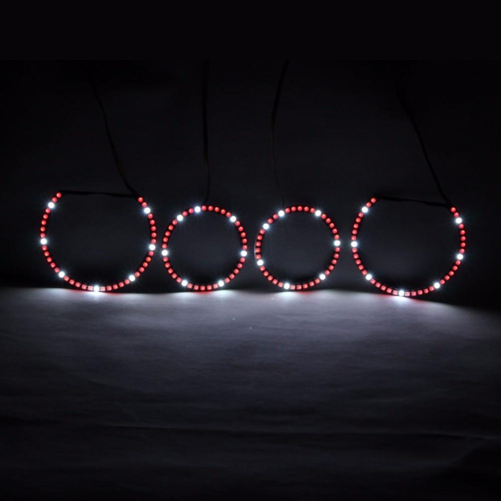 RGBW Angel Eyes Revolving Lights DRL LED Rolling Light Multi-Color - Ավտոմեքենայի լույսեր - Լուսանկար 2