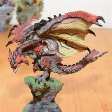 Original Japan Lioleus Silver Rathalos PVC Model Kit 22cm Height Monster Hunter Action Figures