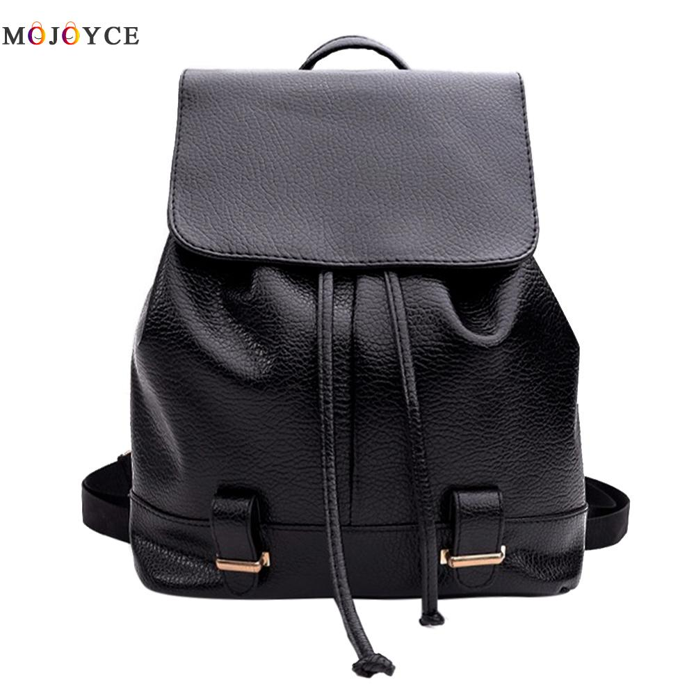 New Travel Backpack Korean Women Backpack For Teenager Girls Leisure Student Schoolbag Soft PU Leather Women Bag new travel backpack korean women female rucksack leisure student school bag soft pu leather women bag
