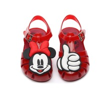 Mini Melissa 2019 Jelly Sandals Mickey Hand Roman Girls Children Shoes Breathable