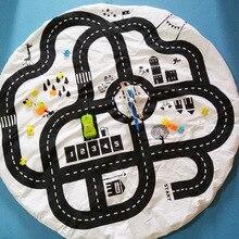 95x95см Хлопок Baby Play Мат Playmat для детей Мягкие одеяла Детская игра Маты Домашний декор Автомобильные игрушки Игровая комната Коврик и ковер