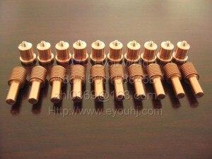 Image 1 - 200 adet 45A sarf malzemeleri (memesi 220671 + elektrot 220669) plazma kesme makinası, t45v/T45m meşale, ücretsiz gemi EMS tarafından [PMX45]