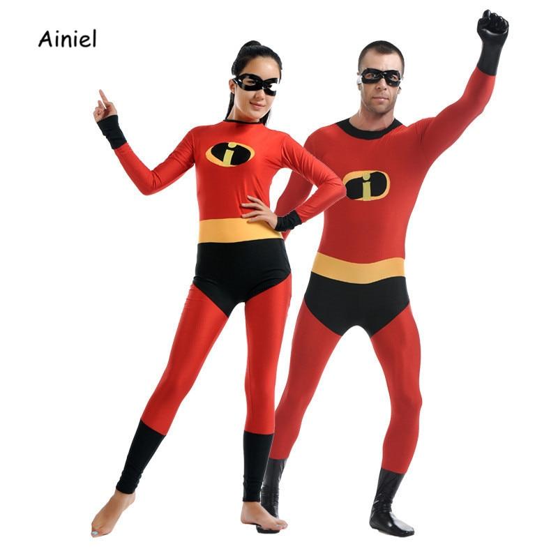 Ainiel Gli Incredibili 2 Cosplay Costume Spandex Lycra Zentai Adulti Costumi Di Halloween Per Bambini Tuta Per Gli Uomini Donna Delle Ragazze Dei Ragazzi Una Vasta Selezione Di Colori E Disegni
