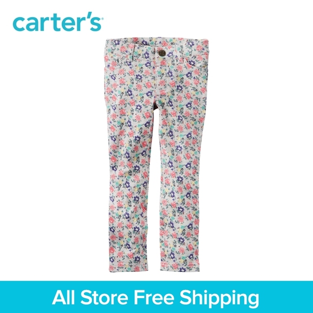 f9eacc7c2cd68 Carter's 1pcs baby children kids Floral Jeggings 236G224,sold by Carter's  China official store