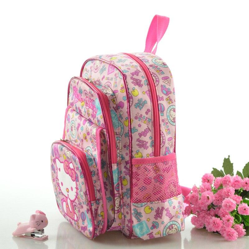 Рисунок «Hello Kitty» школьные рюкзаки для девочек Дети сумка детские школьные сумки для детского сада сумка Mochila Escolar рюкзаки