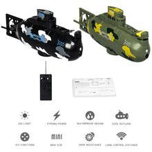 Дистанционная подводная Игрушка Лодка мини подводная лодка Детская летняя водная игрушка перезаряжаемый симулятор подводной лодки игрушки подарки на день рождения для детей