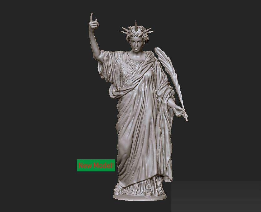 3D model relief STL models file format Goddess of mercy Eternity acts of mercy
