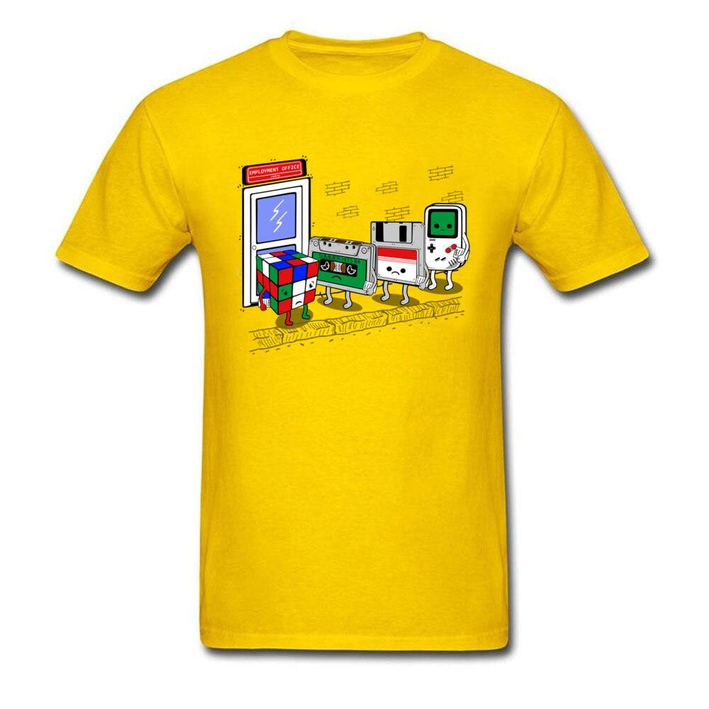b29f874e9494 Mens Tops T Shirt employment office v2 10191 On Sale Print T Shirt 100%  Cotton