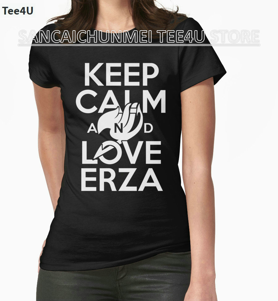 2017 Sale Direct Selling Fashion Unicorn Tumblr Tee4u Cheap T Shirts Jam Tangan Swatch Original 100  Sutr401 Sistem Pink Fun Online Short Sleeve Women Zomer Keep Calm And Love Erza
