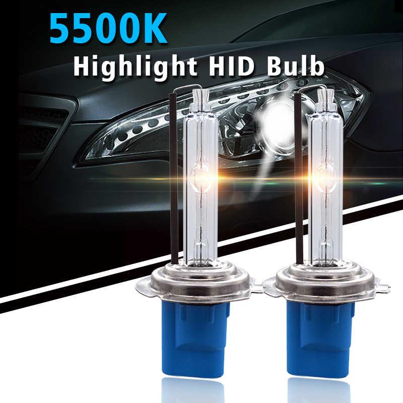 Premium Fast Bright 5500K Xenon H7 H1 H3 9005 H11 D2H HID Xenon Bulb For Car Headlight HID Ballast Kit 35W 45W 55W FBI HID Bulb