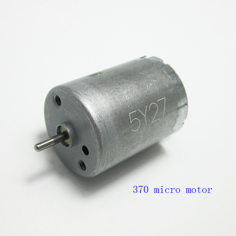 370 DC motor, high power 12V, small high-speed small motors, large torque carbon brush new 12v 3000 dc high speed electric motors turn the long axis of the brush motor r5166 per minute