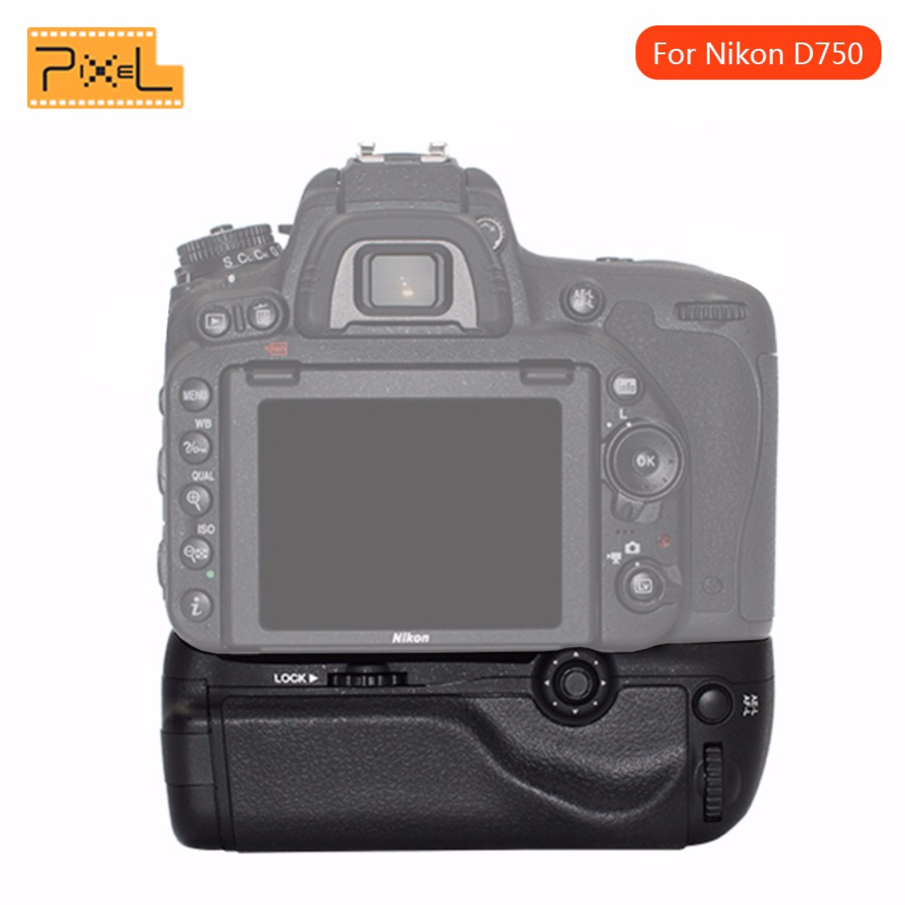 Pixel Vertax D16 Vertical Battery Grip Holder For Nikon D750 DSLR Camera work with EN EL15