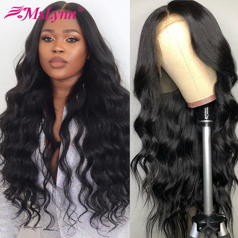 Malaysian Body Wave Wig Pre Plucked Full Lace Human Hair Wigs With Baby Hair Full Lace