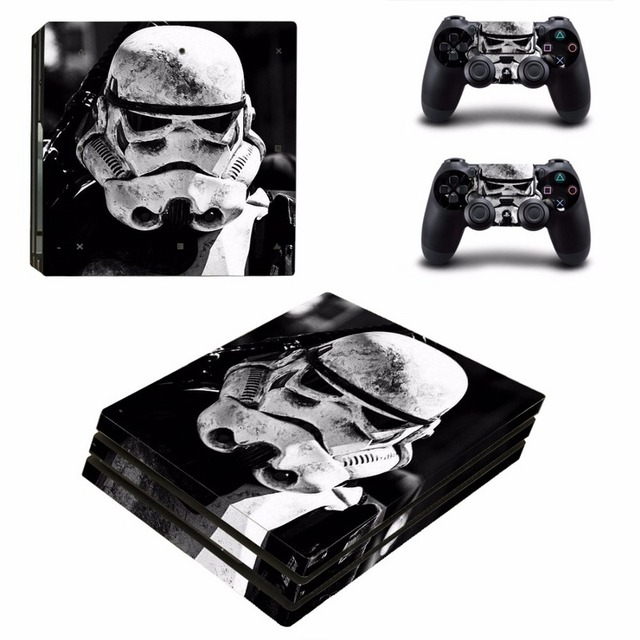 Star Wars Decal Skin Cover For Playstaion 4 Console PS4 Skin Stickers+2Pcs Controller Protective Skins For PS4 Pro Accessories