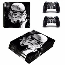 Star Wars Decal Skin Cover For Playstaion 4 Pro Console PS4 Skin Stickers 2Pcs Controller Skins For PS4 Pro Accessories