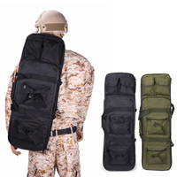120cm tactical rifle carry bag nylon shoulder backpack outdoor hunting airsoft rifle gun protection carrying case gun holster