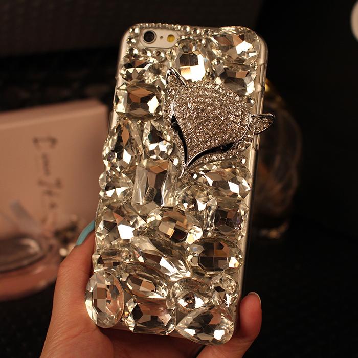 Berlian Imitasi Kristal Berlian Keras Belakang Ponsel Case Sarung untuk Huawei Honor 3C Bermain-Internasional