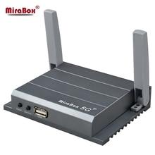 Mirabox 5 גרם רכב wifi ראי קישור תיבה עם HDMI CVBS השמעות Miracast תמיכת Youtube רכב wifi תמיכת תיבת ראי קישור iOS10