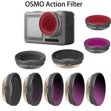 Фильтры для камеры OSMO Action CPL/ND4/ND8/ND16/ND32 PL круговой поляризатор фильтр для DJI OSMO Acessories