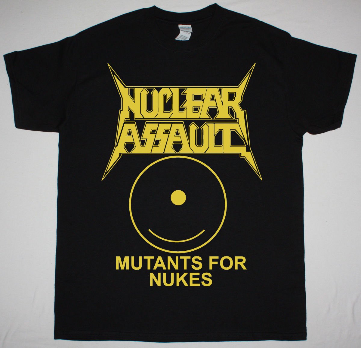 NUCLEAR ASSAULT MUTANTS FOR NUKES BLACK T SHIRT THRASH METAL CROSSOVER S.O.D. ...