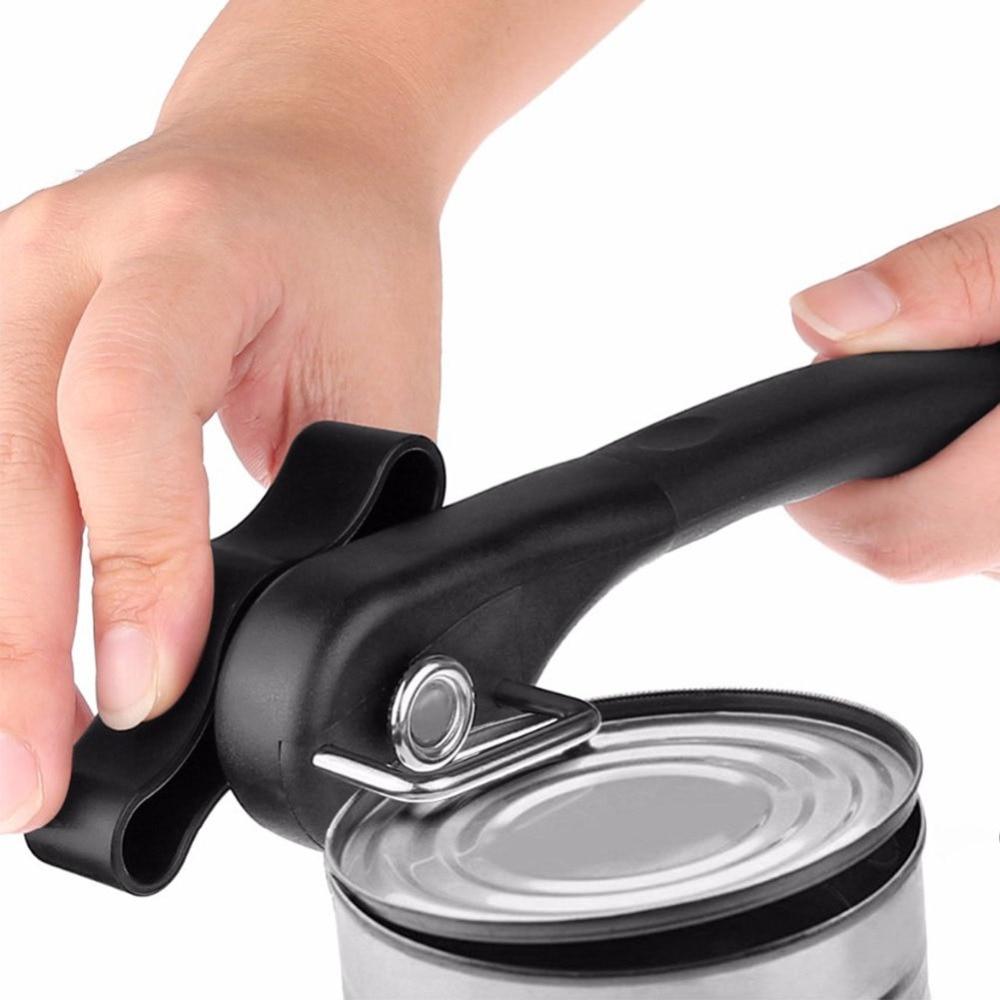 1 шт кухонные приспособления легко ручной металлический консервный нож Профессиональный усилий Нержавеющаясталь замков с Поворотная ручка B0038|Открывалки|   | АлиЭкспресс