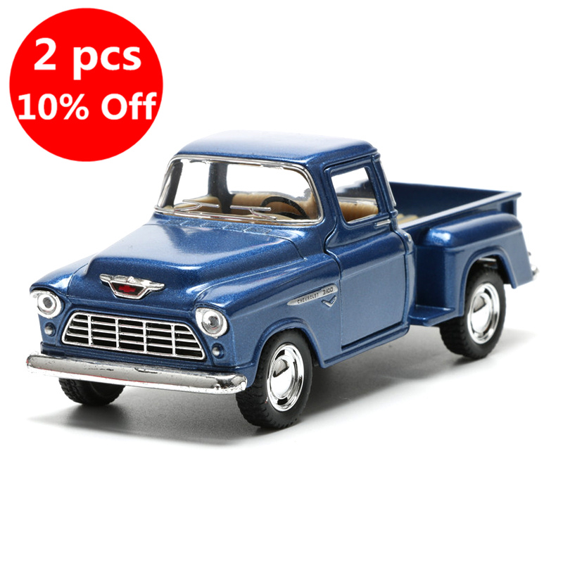 2018 1:32 Alloy Car Model Toy 5 High Simulation Pick-up Cars Boys Miniature Trucks Toys For Children
