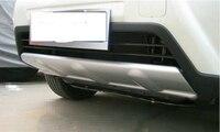 Для Nissan X Trail X Trail T31 2011 2012 2013 ПУ Anteriore + Posteriore paraurti занос Piastra Della Protezione делла Protezione