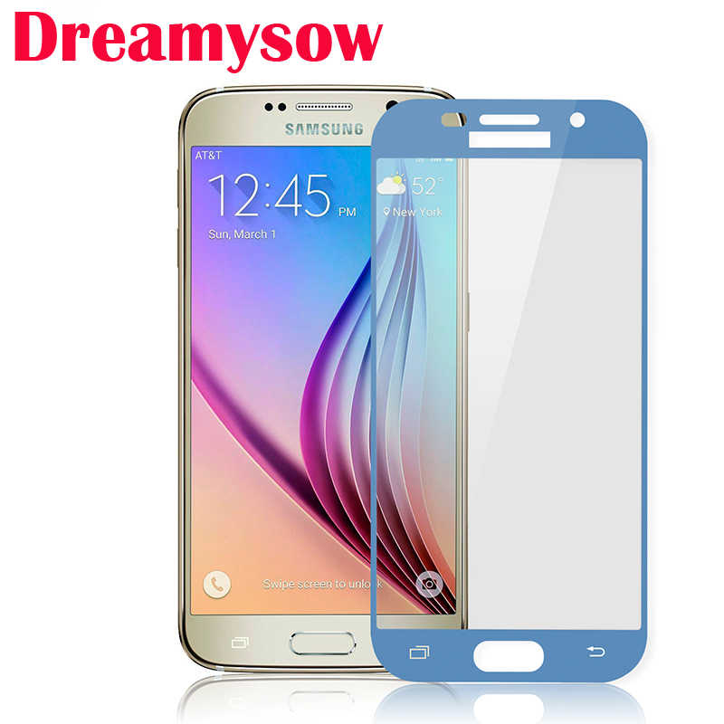 Dreamysow Tempered Glass For Samsung Galaxy J3 J5 J7 2017 Full Cover Screen Protective Film For Samsung J3 J330 J 3 5 7