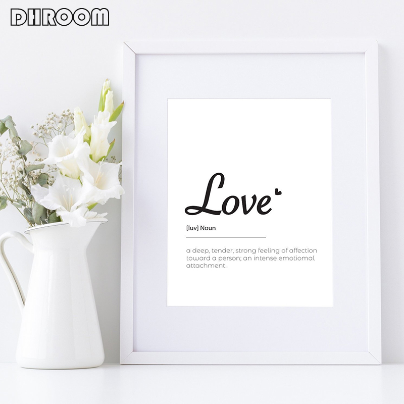 HTB11UE9bh2rK1RkSnhJq6ykdpXae Minimalist Kissing Wall Art Couple Kiss Poster Prints One Line Drawing Canvas Painting Love Definition Wall Poster Bedroom Art