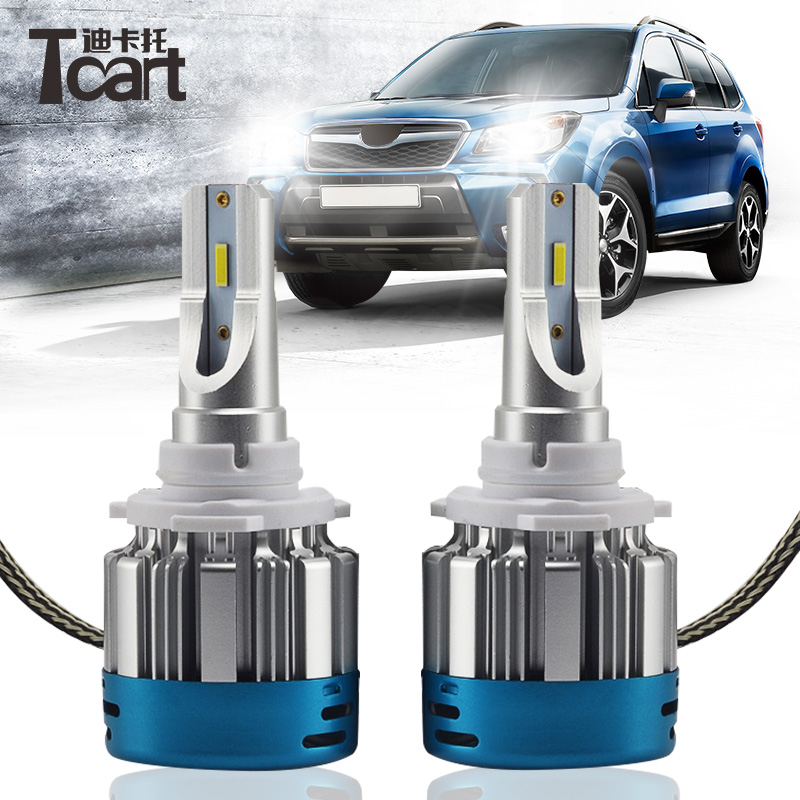 Tcart 527D 4000LM 6000K Auto Headlamp Fog Light Bulb 9v 36v H1\H7\H11\9005\9006\9012/h8/h9 Single light Car <font><b>LED</b></font> <font><b>Headlight</b></font> Bulbs image