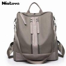 d3d3127037 Women Backpack Purse Casual Shoulder Bag Ladies Oxford Cloth Satchel School  Bag Travel Backpack for Girls