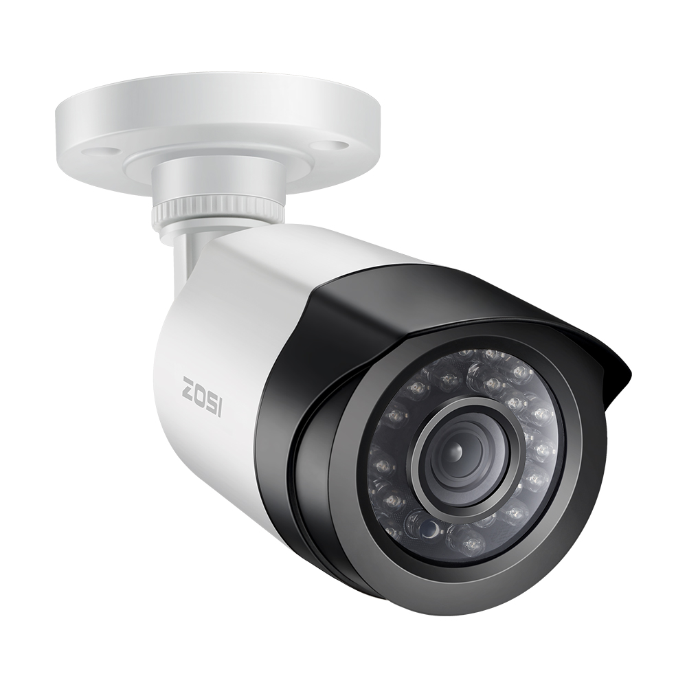 ZOSI 1/2.7 CMOS 2.0MP 1080P CCTV Home Surveillance Weatherproof 3.6mm lens with IR Cut Bullet Security Camera 2000TVLZOSI 1/2.7 CMOS 2.0MP 1080P CCTV Home Surveillance Weatherproof 3.6mm lens with IR Cut Bullet Security Camera 2000TVL