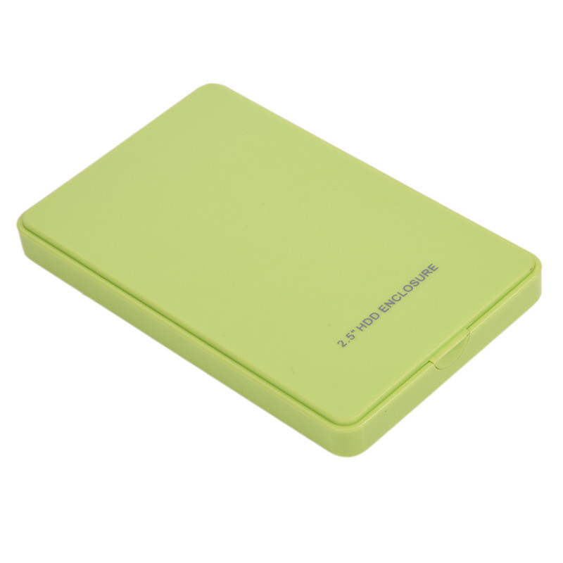 10pcs 2.5inch Hd Externo Sata To Usb Case External Hard Drive Enclosure Hard Drives Enclosures Sata Usb Hdd Box Usb Sata Plastic