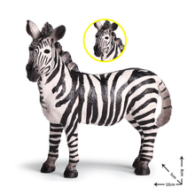 action figure toys 1 piece 1/6 game anime zebra Action Toy Figures baby kids girls boys diy light kit plastic outdoor