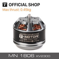 T motor MN1806 KV2300 Brushless Motor for Multicopter Helicopter Professional Boats RC Drones