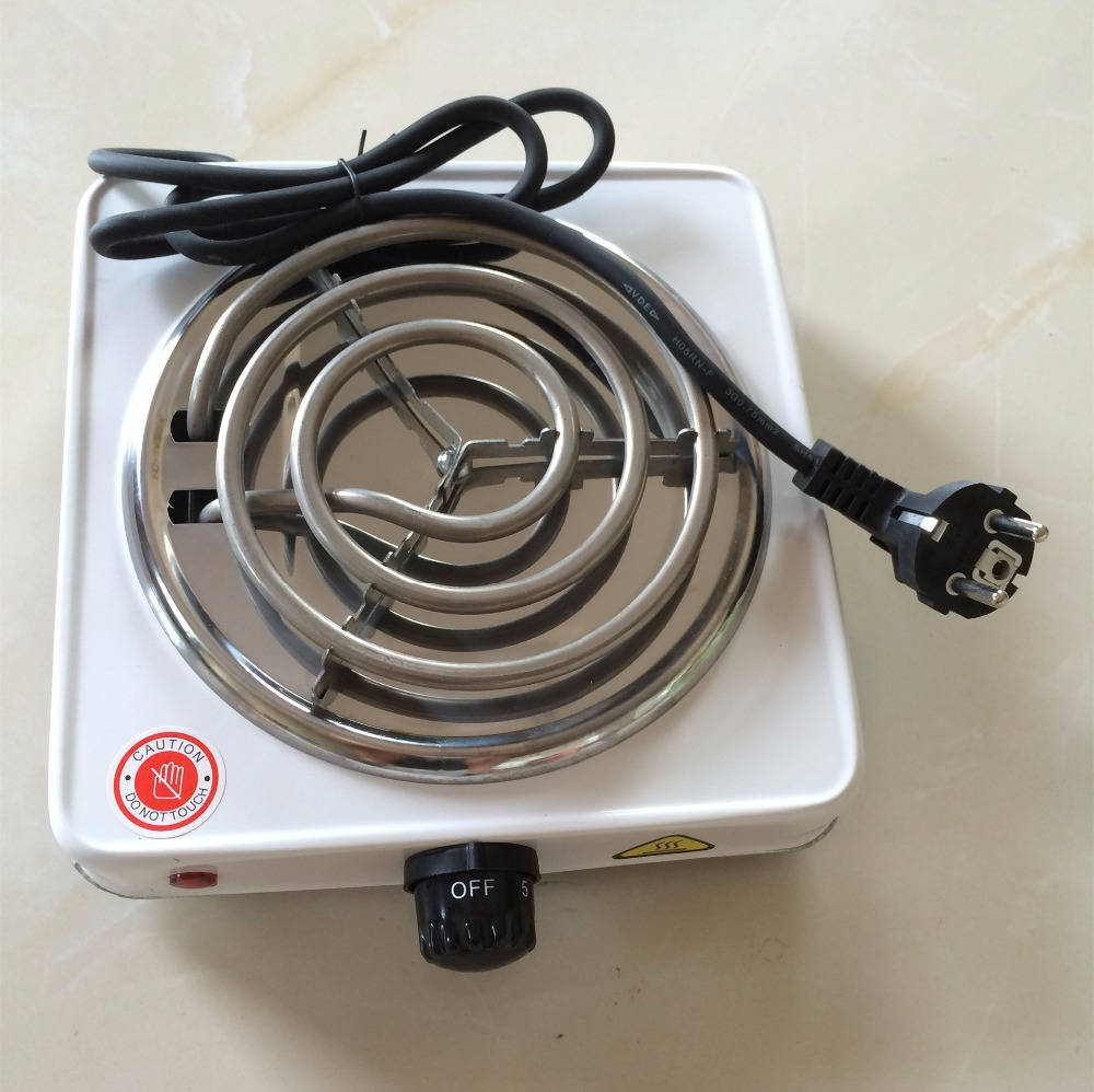 Dropshipping 220v 1000w Burner Electric Stove Hot Plate Kitchen Portable Coffee Heater Design L Hotplate Cooking Appliances