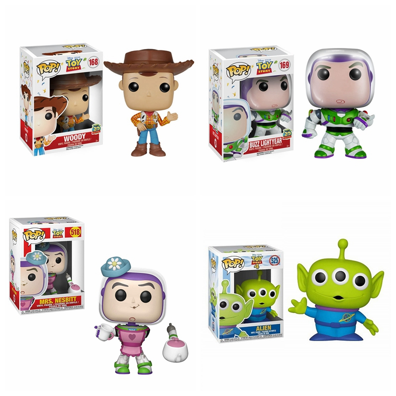 POP Movie Anime Toy Story 3 Woody Buzz Light Year Alien PVC Action Figures brinquedos Collection Model Toys for Children giftPOP Movie Anime Toy Story 3 Woody Buzz Light Year Alien PVC Action Figures brinquedos Collection Model Toys for Children gift